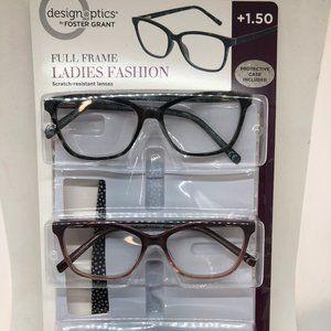 3-pack Reading Glasses + 1.50